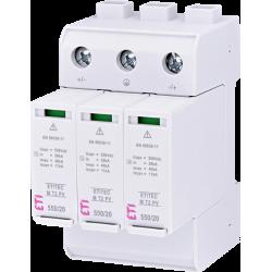 Ограничитель перенапряжения для PV (DC) ETITEC M T2 PV 1100/20 Y