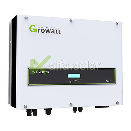 Мережевий інвертор Growatt 10000 TL3-S