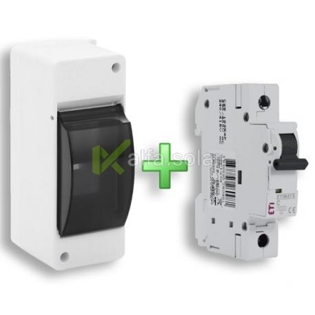 Щит + автоматичний вимикач в подарунок