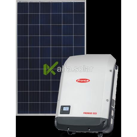 Мережева сонячна електростанція 30кВт (Fronius)
