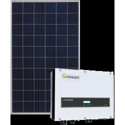 Мережева сонячна електростанція 8кВт (Growatt)