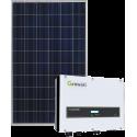 Сетевая солнечная электростанция 9кВт (Growatt)