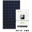 Сетевая солнечная электростанция 17кВт (Growatt)