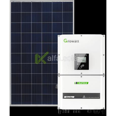 Мережева сонячна електростанція 20кВт (Growatt)