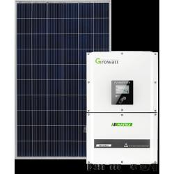 Сетевая солнечная электростанция 25кВт (Growatt)