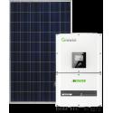 Мережева сонячна електростанція 25кВт (Growatt)