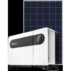 Мережева сонячна електростанція 50кВт (Growatt)