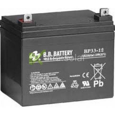 Акумуляторна батарея BB Battery BP33-12S/B2