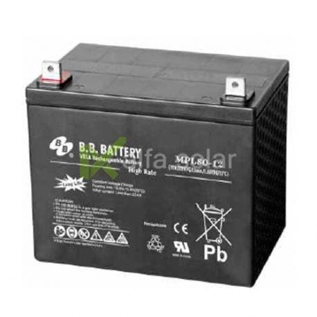 Аккумуляторная батарея BB Battery MPL80-12/B5