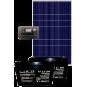 Солнечная электростанция 370Вт 24В