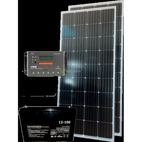 Солнечная электростанция 320Вт 12В