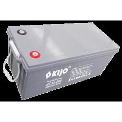 Свинцево-вуглецевий АКБ Kijo JPC12-200 (12V200Ah) Carbon