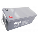 Свинцово-углеродный АКБ Kijo JPC12-200 (12V200Ah) Carbon