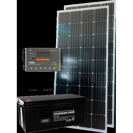 Солнечная электростанция 330Вт 12В монокристал
