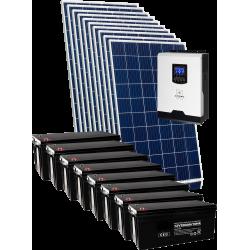 Комплект солнечных батарей 3000Вт