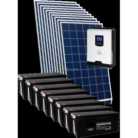 Комплект сонячних батарей 3000Вт