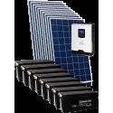 Комплект сонячних батарей 3,2кВт (2,8 кВт по сон. панелям)