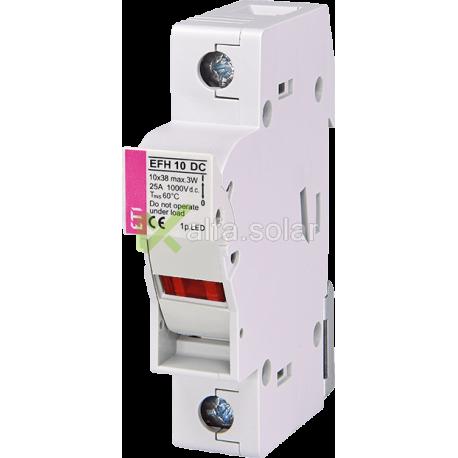 Разъединитель EFH 10 1P LED 25A 1000V DC