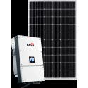 Сетевая солнечная электростанция 30кВт (Afore mono)