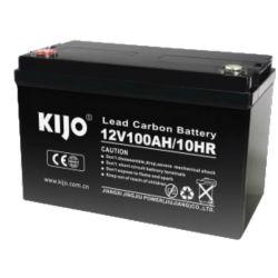 Свинцово-углеродный АКБ Kijo JPC12-100 (12V100Ah) Carbon