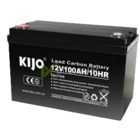 Свинцово-углеродный АКБ Kijo JPC12-100 (12V100Ah)