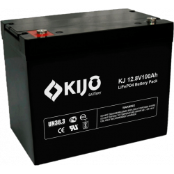 Свинцево-вуглецевий АКБ Kijo FePO4-12100D