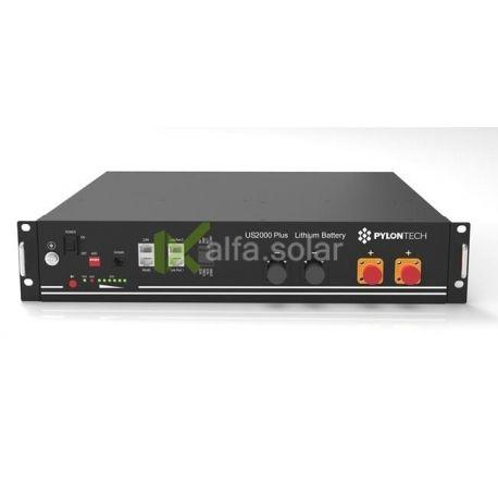 Аккумуляторный блок литиевый Pylontech US2000B Plus, LiFePo4 48В 50A