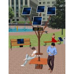Сонячне Wi-Fi дерево ASolarTree 4ST40