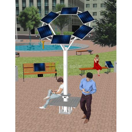 Солнечное Wi-Fi дерево ASolarTree 6ST40