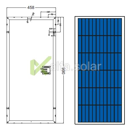 Солнечная батарея Axioma AX-65P