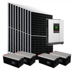Солнечная электростанция 5кВт