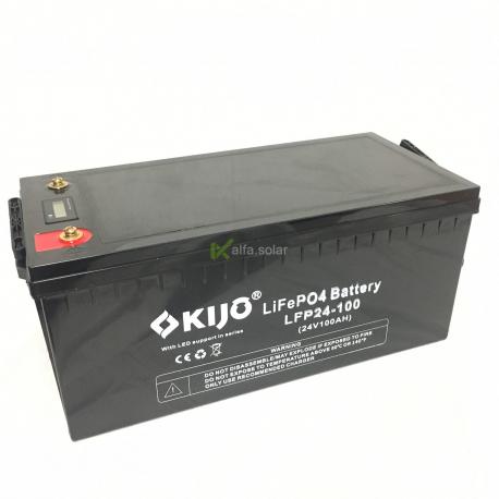 Аккумулятор Kijo LiFePo 24V 100Ah с LED дисплеем