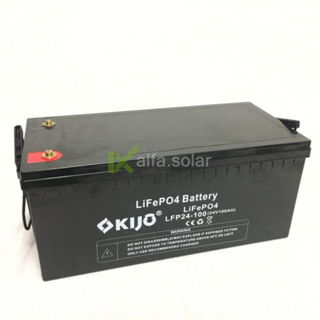 Аккумулятор Kijo LiFePo 24V 100Ah