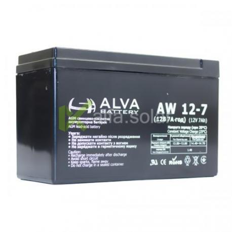 Акумуляторна батарея ALVA AW12-7