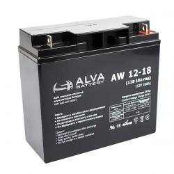 Акумуляторна батарея ALVA AW12-18