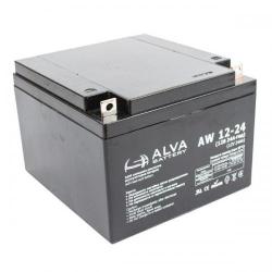 Акумуляторна батарея ALVA AW12-24