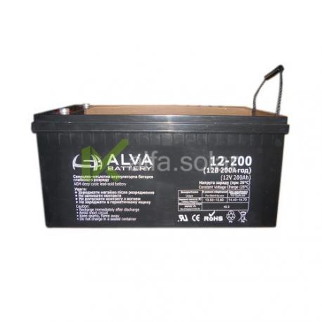 Акумуляторна батарея ALVA AW12-200