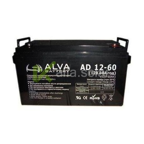 Акумуляторна батарея ALVA AS12-60