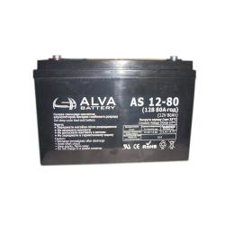 Акумуляторна батарея ALVA AS12-80