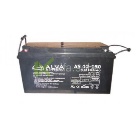 Акумуляторна батарея ALVA AS12-150