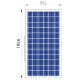 Сонячна батарея ALM-310P-72