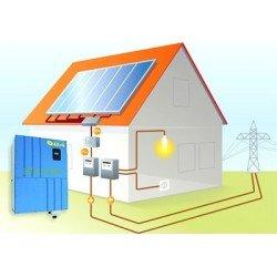 Сетевая солнечная электростанция 5кВт