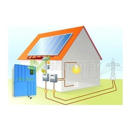 Сетевая солнечная электростанция 10кВт (эконом вариант)