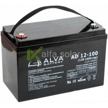 Аккумуляторная батарея ALVA AD12-100