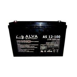 Акумуляторна батарея ALVA AS12-100