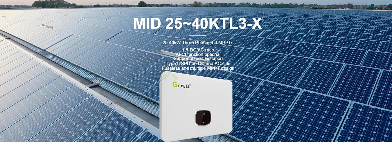Growatt MID 30000 TL3-X