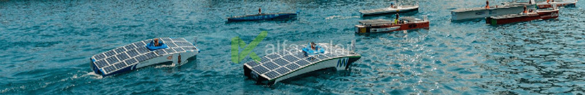 Электростанция на лодке