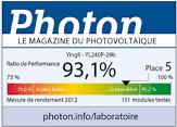 yingli solar photon рейтинг